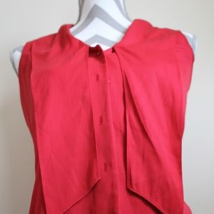 Beautiful Ann Taylor Red Shirt